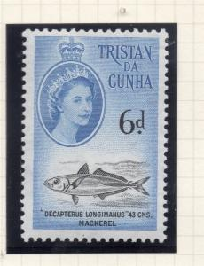 Tristan Da Cunha 1960 Early Issue Fine Mint Hinged 6d. 229968