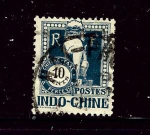 Indochina J39 Used 1922 issue
