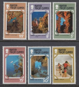 British Virgin Islands 327-332 MNH VF
