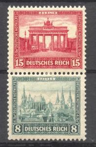 1930 Semi-Postal Se-Tenant , Michel S 38, MNH, no faults,