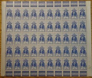 Somali Coast #173* NH  Post office fresh full sheet of 50  CV $87.50