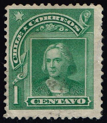Chile #68 Columbus; Used (0.25)