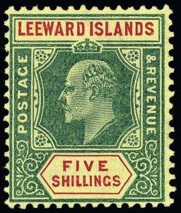 Leeward Islands Scott 29-45 Gibbons 29-45 Mint Set of Stamps