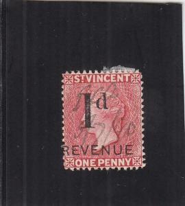 St. Vincent Revenue Tax Stamp, 1p, Sc #33 (24905)
