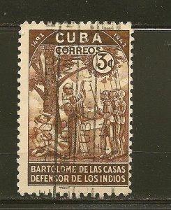 Cuba 388 Bartolome de Las Casas Used