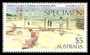 Australia 578 Mint VF NH Specimen