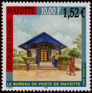 Mayotte 2001 #157 MNH. Post office