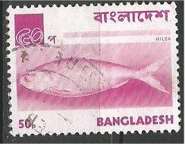 BANGLADESH, 1973, MNH 50p, Fish, Hilsa Scott 48