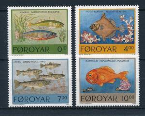 [28284] Faroe Islands 1994 Marine Life Fish MNH
