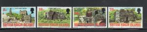 VIRGIN ISLANDS #305-308  1976  HISTORIC SITES        MINT VF NH O.G