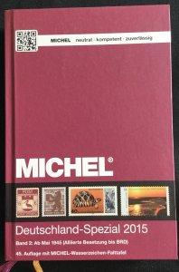 Michel Deutschland-Spezial 2015 Volume 2 In German LPB