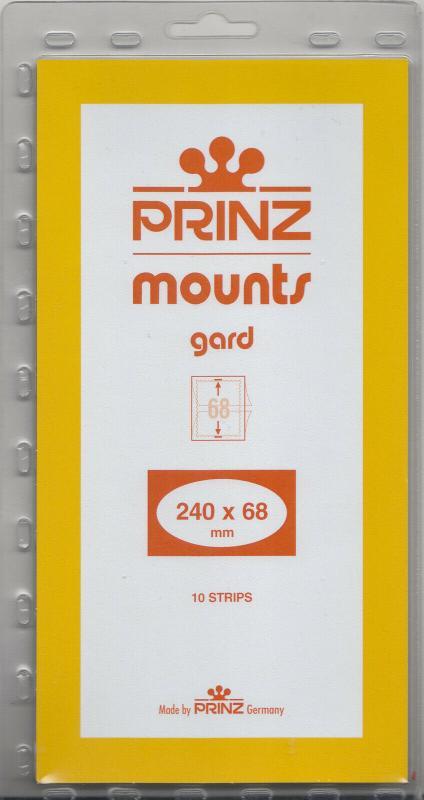PRINZ BLACK MOUNTS 240X68 (10) RETAIL PRICE $9.50