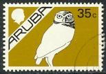 ARUBA 1986-87 35c OWL Birds Pictorial Sc 6 VFU