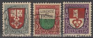 Switzerland #B12-4   F-VF Used CV $35.25 (S2394)