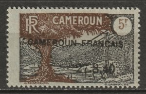 Cameroun 1940 Sc 276 Yt 203 MH* partial gum