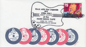 1993 Bill Haley Rock (Scott 2725) U/O Washington DC Gamm FDC