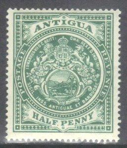 ANTIGUA  SCOTT# 21  MINT HINGED  1903  SEE SCAN