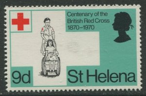 STAMP STATION PERTH St Helena #237 Cent, of British Red Cross 1970 MNH