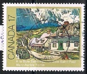 CANADA 1702120 - 1981 Canadian Religious Personalities used pair