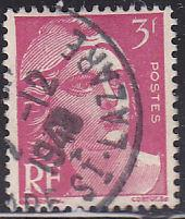 France 595 Hinged Used 1948 Marianne
