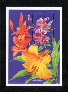 Antigua 2239-2240, MNH,  Flowers 1999. x27211