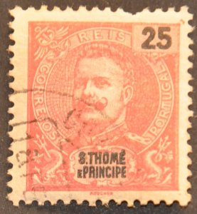 DYNAMITE Stamps: St. Thomas & Prince Islands Scott #46 – USED