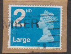 GB QE II Machin SG U2953 - 2nd brt blue -No Date - Source  B
