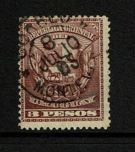 Uruguay SC# 107 Used - S11867