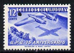 Uruguay 1949 75th Anniversary of Universal Postal Union 1...
