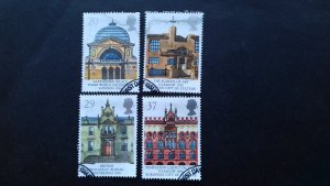 Great Britain 1990 EUROPA Stamps - Post Offices Used