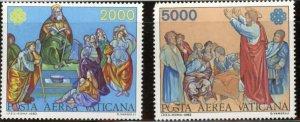 Vatican City Sc# C73-C74 MNH Complete Set World Communications Year