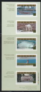 Canada Sc 1990 2003 Tourist Attractions stamp booklet mint NH