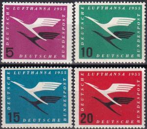 Germany #C61-4 MNH   CV $22.75  Z702