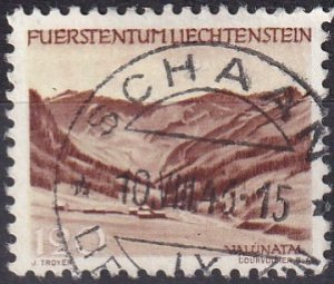 Liechtenstein  #210 F-VF  Used  CV $5.75 (Z2940)