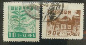 Korea 193-194 Used VF