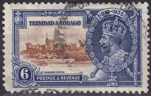 Trinidad  & Tobago #45  F-VF Used  CV $2.50  (Z1585)