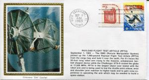 Colorano Space Cover Payload Flight Test Article (PFTA). 9/1/83. 59