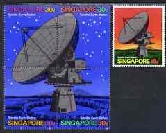 Singapore 1971 Opening of Satellite Earth Station set of ...