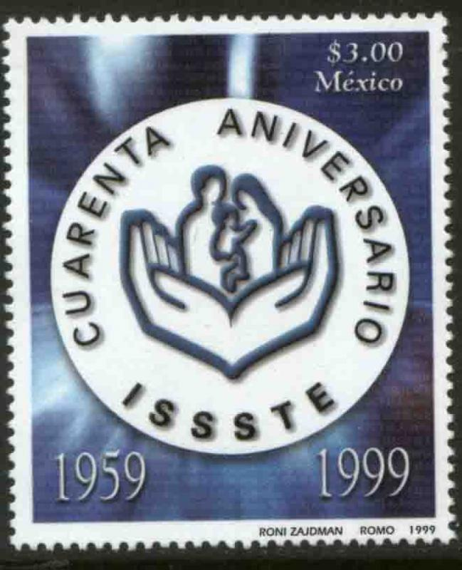 MEXICO 2161, Health Institute for State Workers. MINT, NH. VF. (69)