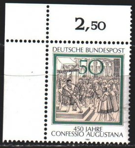 Germany. 1980. 1051. Engraving, Augsburg Confession. MNH.