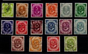 Germany 670-85 Used Set