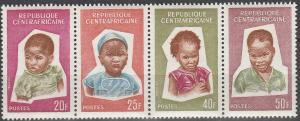 Central African Rep #35-8 MNH F-VF  (SU6615)
