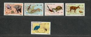Central African Republic Sc#B3-7 M/NH/VF, Complete Set, Cv. $43.75