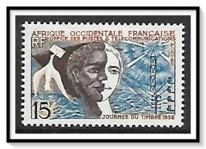 French West Africa #76 Stamp Day MNH
