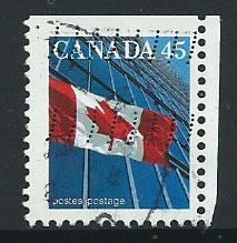 Canada SG 1358d  FU imperf top margin