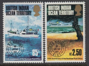 British Indian Ocean Territory 57-58 MNH VF