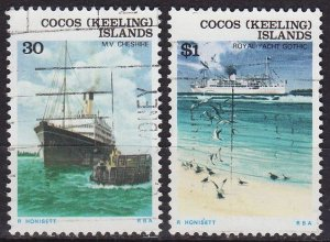 KOKOS COCOS KEELING ISLANDS [1976] MiNr 0020 ex ( O/used ) [01] Schiffe