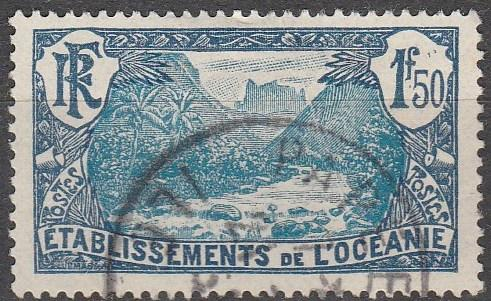 French Polynesia #52  F-VF Used CV #16.50    (A13078)