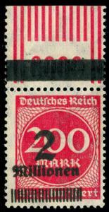 momen: GERMANY Stamps Mi. -Nr. 309 AF MINT OG HELMUT CERT