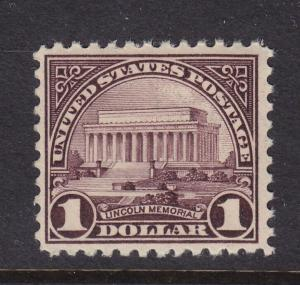 571 VF OG mint never hinged with nice color cv $ 80 ! see pic !